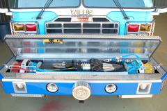 Custom bumper compartments