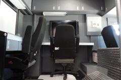 Walk-in command interior