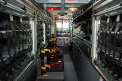 Walk-in heavy duty interior