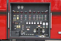 Open or enclosed rear pump control panel