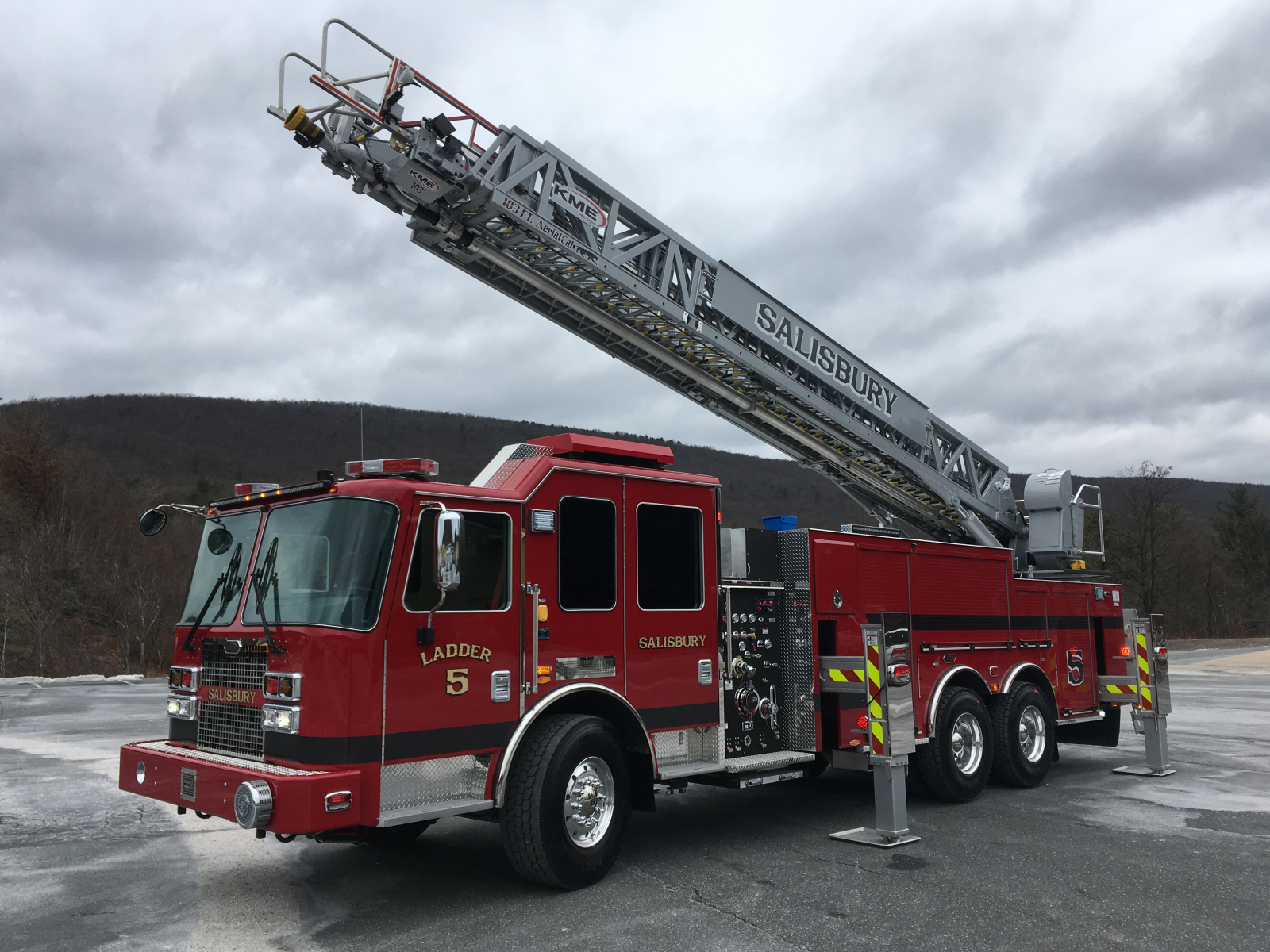Kme Severe Service Xmfd 96 Quot W Tuff Truck Aerial Fire Truck