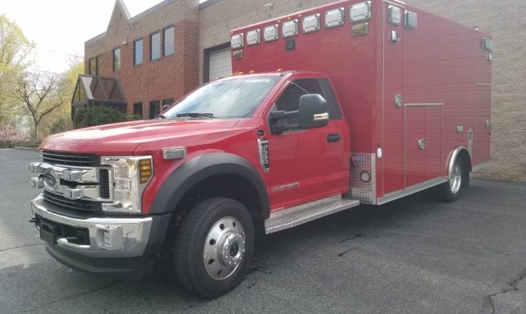 2019 Osage Type I Ambulance Demo For Sale - Bulldog Fire