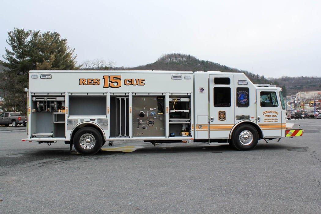 Walk-In Rescue Fire Apparatus - Bulldog Fire Apparatus