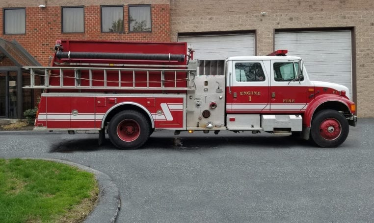 1994 International 4900 KME Used Fire Truck for Sale